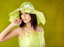 Spring woman portrait. Stock Images