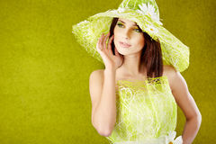 Spring woman portrait. Stock Photography