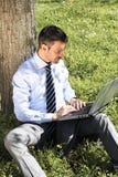 Spring work Stock Image