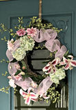 Spring Wreath royalty free stock image