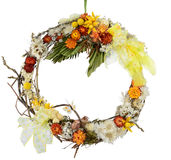 Spring wreath Royalty Free Stock Images