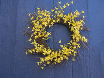Spring Wreath Royalty Free Stock Photos