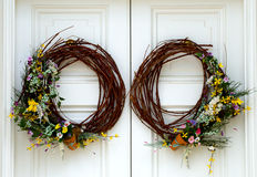 Spring Wreaths Stock Photos