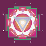 Spring yantra for health Stock Image