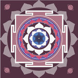 Spring yantra of Saturn Royalty Free Stock Image