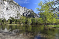 Spring in Yosemite Valley Stock Photography