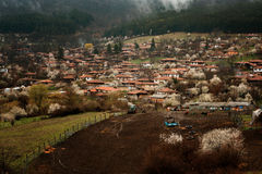 Spring in Zheravna, Bulgaria. Beautiful spring in Zheravna, Bulgaria Stock Image