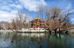 Spring Zong-jiao-lu-kang Park with Birds Stock Photography