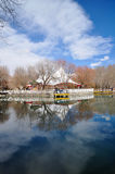 Spring Zong-jiao-lu-kang Park Reflect in water Stock Image