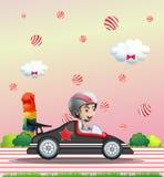 Springa för bil Arkivfoton