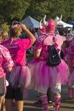 Springa för den botmedvetenhetPortland Oregon händelsen Royaltyfria Foton