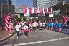 Springa för den botmedvetenhetPortland Oregon händelsen Royaltyfri Bild
