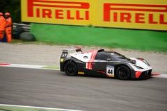 Springa för KTM-X-pilbåge GT4 bil på Monza Arkivbilder