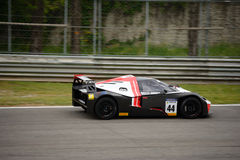 Springa för KTM-X-pilbåge GT4 bil på Monza Arkivfoto