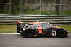 Springa för KTM-X-pilbåge GT4 bil på Monza Arkivbild