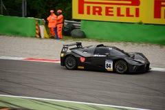 Springa för KTM-X-pilbåge GT4 bil på Monza Fotografering för Bildbyråer