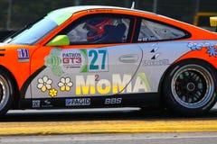 Springa för Porsche 911 lag Arkivfoton