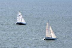Springa för yacht Arkivfoto