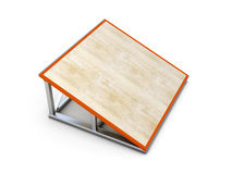 Springboard small for skate parks Stock Photos