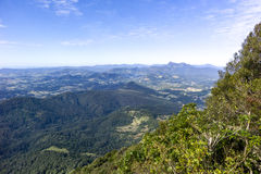 Springbrook National Park. View from the Best of All Lookout at Springbrook national park, Australia Royalty Free Stock Photography