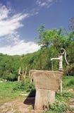 springbrunn royaltyfria bilder
