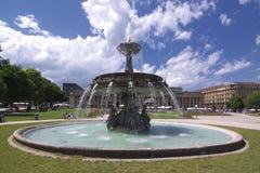 springbrunn Royaltyfri Foto