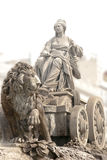 Springbrunn av Cibeles i Madrid Royaltyfri Foto