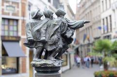 Springbrunn av de blinda männen Royaltyfri Foto