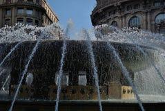 Springbrunn av Genua Arkivfoton