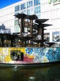 Springbrunn av kamratskapet av nationer - Berlin Fotografering för Bildbyråer