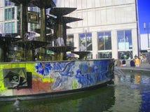 Springbrunn av kamratskapet av nationer - Berlin Arkivbild