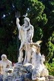 Springbrunn av Neptun, Rome, Italien Royaltyfri Foto