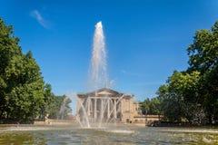 Springbrunn av Poznan royaltyfri fotografi