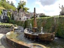 Springbrunn av Rometta rome Arkivbild