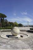 Springbrunn av sfären Royaltyfri Fotografi