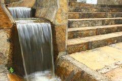 Springbrunn av vatten Fotografering för Bildbyråer