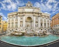 Springbrunn di Trevi, Rome Royaltyfri Fotografi