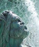 Springbrunn för Las Vegas skulpturvatten Royaltyfri Bild