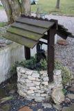 Springbrunn för vattenpump Royaltyfria Bilder