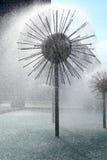 Springbrunn i Dresden Arkivfoto