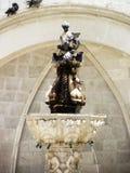 Springbrunn i Dubrovnik Royaltyfria Foton