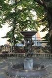 Springbrunn i Florence, Italien arkivbilder