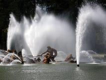 Springbrunn i Frankrike Arkivbilder