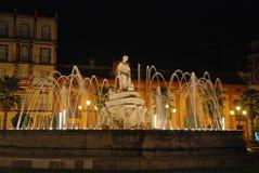 Springbrunn i Seville Royaltyfri Bild