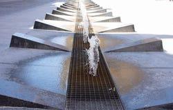 Springbrunn i staden av Orihuela, Spanien Royaltyfri Bild