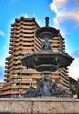 Springbrunn i Valencia royaltyfria foton