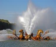 Springbrunn i Versailles Royaltyfria Foton