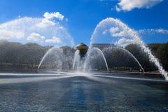 Springbrunn i Washington royaltyfri foto