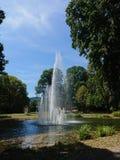 Springbrunn - landskap arkivfoton