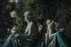 springbrunn lisbon Royaltyfria Foton